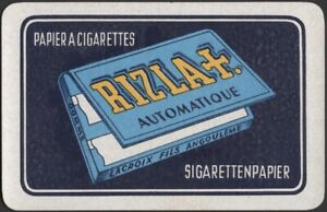 Playing Cards Single Card Old * RIZLA Cigarette Rolling Papers Tobacco Smoking C