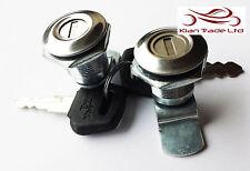 NEUF ROYAL ENFIELD Paire latéral Boite à outils SERRURE KIT MONTAGE @ UK