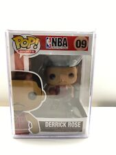 """NEW"" POP FUNKO NBA DERRICK ROSE #09 + PROTECTOR (VAULTED / RETIRED)"
