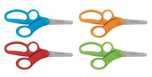 FISKARS Kids Scissors Total Control with Extra Finger Position for Learning