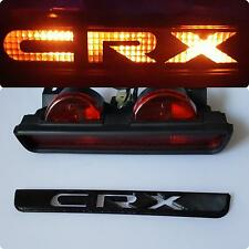 88-91 Honda CRX 3rd Brake Light Logo Panel Overlay Plate MK2 USDM Version ED9