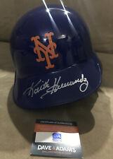 Keith Hernandez New York Mets Signed Full Size Baseball Rawlings Batting Helmet