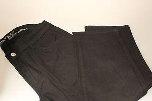 Lobster Golf Ladies Cut Offs/Capri Pants Black Cotton Lycra 8,10,12,14,16,18,20