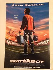 ADAM SANDLER AUTOGRAPHED THE WATERBOY 12x18 PHOTO MOVIE POSTER, NICE AUTOGRAPH