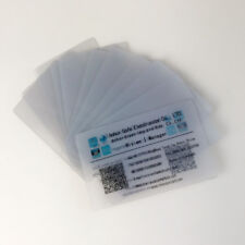 100pcs Inkjet Printable Glossy Finish Transparent PVC Card for Inkjet Printer