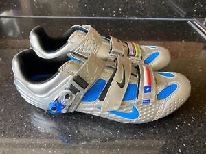 Nike Cycling shoes Lance Armstrong World Champ stripes Uk 11 US 46