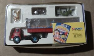 Vintage Limited Edition Corgi Classics Chipperfields Circus Truck With Animals