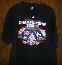 NATIONAL LEAGUE CHAMPIONSHIP SERIES 2008 NATIONAL LEAGUE T SHIRT LARGE BLACK