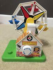 Fisher Price Little People Amusement Park Ferris Wheel Classic Toy #2077