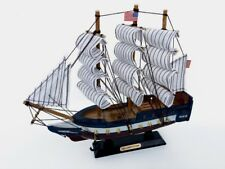 """Wooden USS Constitution Tall Model Ship 10"""""""