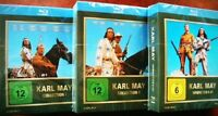 Karl May BOX 1 2 3 Winnetou & OLD SHATTERHAND LEX BARKER PIERRE BRICE BLU-RAY