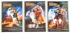 Back to the Future FRIDGE MAGNET Set (2 x 3 inches each) movie poster