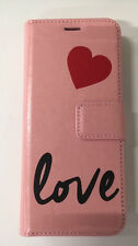 URBAN STYLE  BOOK & COVER Handytasche Huawei P8 Lite 2017 PINK