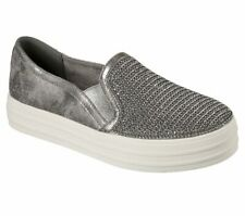 NEU SKECHERS Damen Sneakers Slipper Schuh DOUBLE UP SHINY DANCER