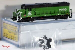American Z Line Z Scale Z Gauge AZL 62502  Burlington Northern BN GP38-2 NIB