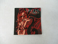Maroon 5 Songs about Jane Signed Actual Autographs Pop Rock & Roll Cd Insert