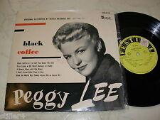 Peggy Lee Black Coffee * MEGARARE ORIGINALE 1st Press 10 inch Festival Australia *