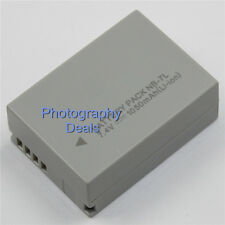 Replacement For Canon NB-7L Battery For Canon Powershot SX30IS G10 G12 IXUS120IS