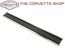 C3 Corvette Aluminum Door Sill Plate with screws 1968-1977 Each x2445