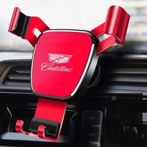 Air Vent Gravity Car Mobile Phone Holder Navigation Bracket Fit Cadillac Auto