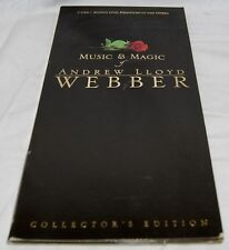 Music & Magic Of Andrew Lloyd Webber, Collector's Edition, 3 CDs + Phantom DVD