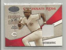 2004 Leaf Certified Baseball Dave Parker Fabric Of The Game Jersey # 72/100  CSC