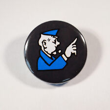 """GO TO JAIL FUNNY JOKE Badge/Button GIFT with METAL PIN ( Size is 1"""" / 25mm)"""