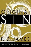 Original Sin, P.D. James,0679438890, Book, Good