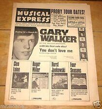 NME 18 FEBRUARY 1966 DAVID BOWIE STEVIE WONDER BILLY KRAMER TEA SET GARY WALKER