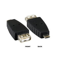 USB 2.0 Micro B 5Pin Male to Type A Female Converter Adapter Connect Smart Phone