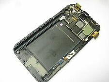 LCD Display+Touch screen +FRAME+key For SAMSUNG GALAXY Note2 N7105 ~ Grey