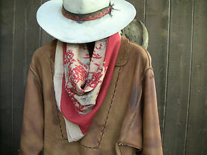 Sam Elliott styled Western Film Bandana, The Sacketts SASS Cowboy, Selleck, Duke
