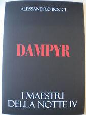 PORTFOLIO - DAMPYR - I MAESTRI DELLA NOTTE IV -  NORMAL EDIT - A. BOCCI