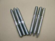 Gougeons  bois vers métal meuble fixation cheville vis M8x80mm paquet x 6,