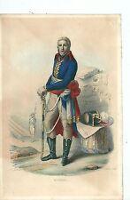1840 ca GENERALE MOREAU opposizione realista Napoleone Bonaparte Cassano d'Adda