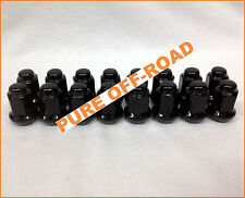 ITP Black Tapered Lug Nuts 3/8 x 24 (Set of 16) Polaris Sportsman, RZR, Ranger