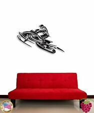 Wall Sticker Snowmobile Winter Extreme Sport Decor for Living Room z1378