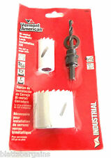 VA BY BOSCH BI-METAL DEADBOLT DOOR LOCK INSTALLATION HOLE SAW KIT 18602 KNOB