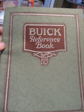 1929 BUICK THE SILVER ANNIVERSARY and 1929 BUICK REFERENCE BOOK  2 BOOKS INCLUDE