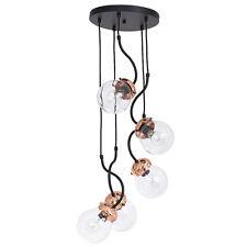 Luminaire suspendu 5X E27 Diamètre 48 cm en cuivre Suspensions Lampe