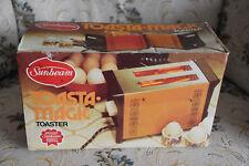 Vintage Sunbean Toasta.magic TA11  Toaster in Original Box - Almond