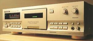 Pioneer 3 Testa Singolo Cassetta Piastra T-D7 Da Giappone No Telecomando Usato