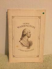 George Washington A Brief Biography (1973) PB