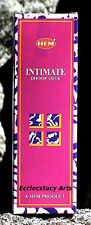 Hem Intimate Incense Dhoops 14 Stick Pack  NEW