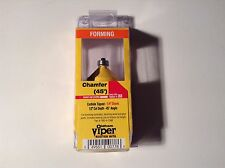 Oldham Viper #580-4-Chm, 45° Angle, Forming, Chamfer Router Bit