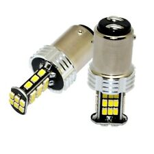 2X 1157 BAY15D T25 P21/5W 30 SMD 3020 LED Brake Turn Stop Tail Light Bulb White