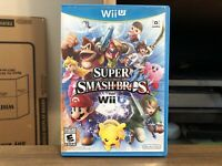Super Smash Bros. (Nintendo Wii U, 2014) CIB Complete