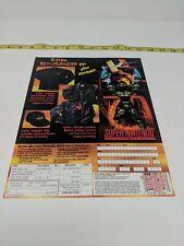 Killer Instinct Super Nintendo SNES Promo Promotional Merchandise Flyer VTG 90s