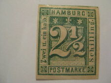 HAMBURG  Sc  12  MINT HINGED  Cat $140