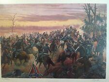 Battle For The Shenandoah By Mort Kunstler - Artist Proof